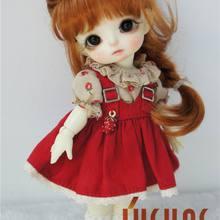 JD413 1/8 1/6 красивая принцесса коса BJD парики 5-6 дюймов 6-7 дюймов синтетический парик для куклы мохеровый модные куклы аксессуары