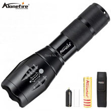 AloneFire E17 most Powerful Tactical LED flashlight T6 L2 V6 Zoomable high power torch Camping Lanterna Zaklamp warsun usb charger powerful lanterna tactical torch flash light linterna led zoomable for hunting gladiator zaklamp flashlight