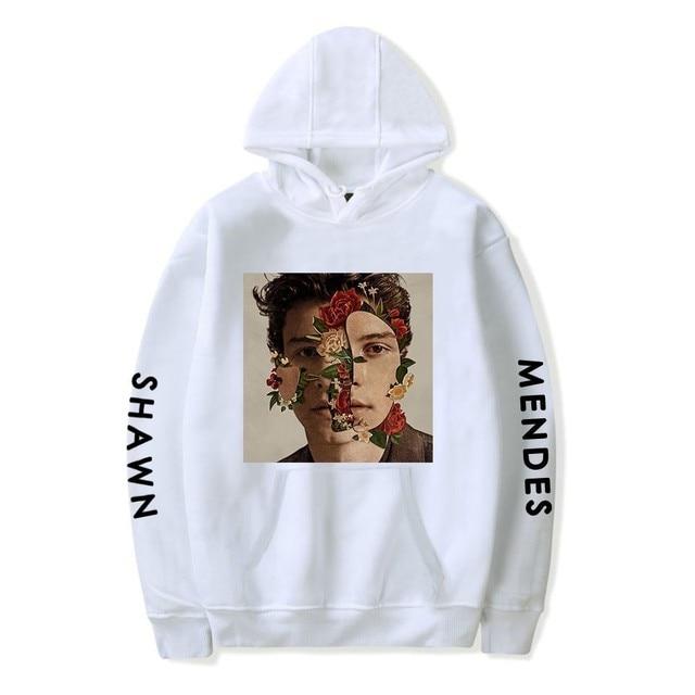 2018 Shawn Mendes Hoodie Herfst Vrouwen Hoodies Print Hip Hop Sweatshirts heren Lange Mouw Truien Truien Jas Meisjes Vrouwelijke