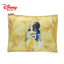 Genuine Disney Beauty and the Beast Series Orange Fashion Mommy Bag Multi-function Women Wallet Purse For Girls Gifts