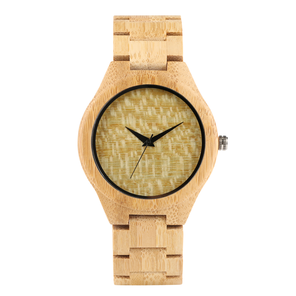 Hand Made Wood Watch Simplicity Wooden Watch 7 Style Available Nature Wooden Strap Timepieces Bracelet Clasp Clock for Men Women