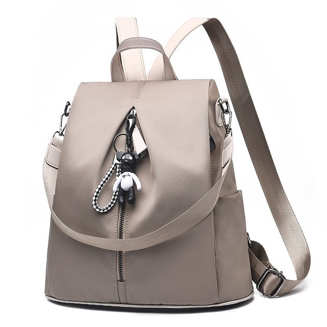 e5e1fa9a09 2018 Women New Backpack Fashion Trend Oxford Cloth Backpack Bags School  Teenage Girl Anti Theft Back