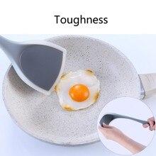 Высококачественный силиконовый антипригарный кухонный аксессуар лопатка на длинной ручке утолщенная кухонная лопатка специальные инструменты для приготовления пищи