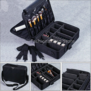 Image 4 - Make up Tasche Organizer Professionelle Make Up Künstler Box Größeren Taschen Nette Korea Koffer Make Up Koffer mode kosmetik tasche Fall