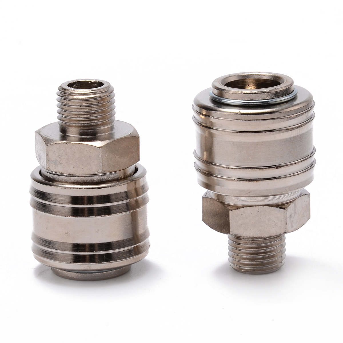 10Pcs Compressor Quick Release Coupler Connector Air Line Hose Adapter PF20