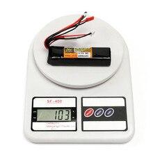 ZOP Power 7.4V /11.1V 2200mAh 2S 3S 8C Rechargeable Lipo Battery JR JST FUBEBA Plug Connector for RC Model Transmitter