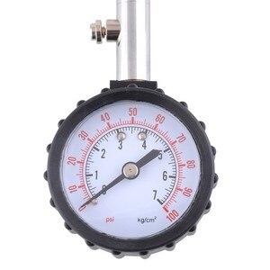 Image 4 - SPEEDWOW 긴 튜브 자동차 타이어 타이어 공기 압력 게이지 미터 자동차 테스터 모니터링 시스템 자동차 자전거 모터