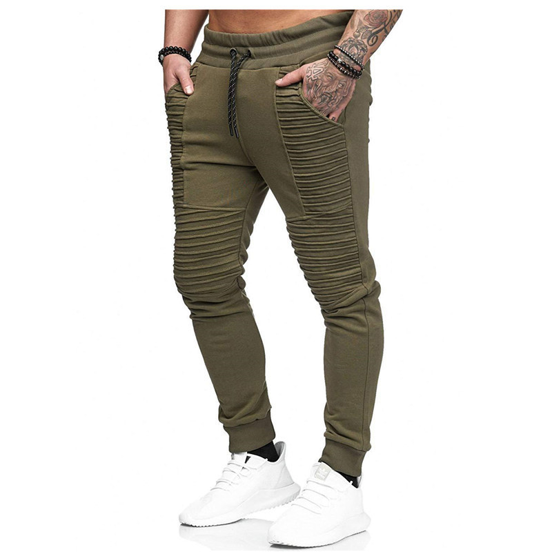 2019 New Man Motion Trousers Hip-hop Stripe Design Fitness Bodybuilding Running GYM Jogging Pants Men2019 New Man Motion Trousers Hip-hop Stripe Design Fitness Bodybuilding Running GYM Jogging Pants Men