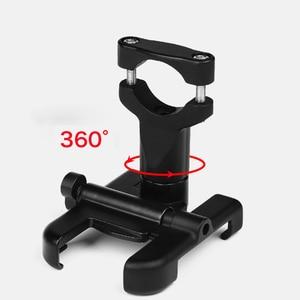 Image 3 - Uniwersalny uchwyt ze stopu aluminium motocykl telefon wsparcie telefon uchwyt Moto dla GPS Bike uchwyt kierownicy dla iPhone Android
