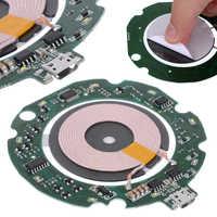 Hohe Qualität Standard 10W Qi Schnelle Drahtlose Ladegerät Modul Sender PCBA Platine + Spule DIY Lade