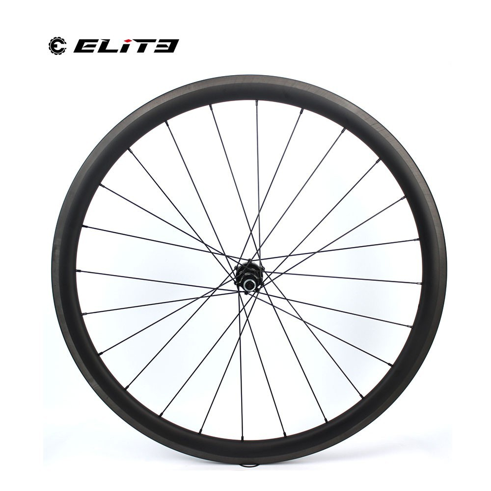 Clearance 1130g Only 700C Road Bike Tubular Wheelset Carbon Fiber Bicycle Wheel Bitex Straight Pull Hub For Clmbing Clincher 1230g 2