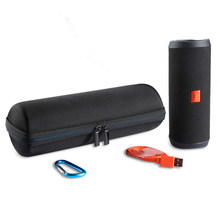 New Travel Carrying Protective Carry Cover Case For JB Flip 4 Wireless Bluetooth Speaker Additional Space for Plug & Cables(China)