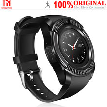 Mesvida V8 SmartWatch Support SIM TF Card Bluetooth Clock With Camera Call SMS Function For Android IOS Smart Watches(China)