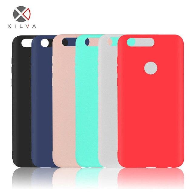 Para Xiaomi 8 A2 Redmi Note 5 F1 Anti-huella digital suave TPU caramelo colores funda de silicona para MAX 3 nota 4X nota 3 4A 3 S Redmi 6 Pro