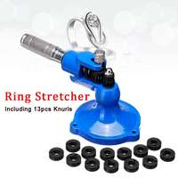 Ring Stretcher Expander Sizing Machine Roller For Stone Set Jewelry Making Tool Soild Steel Material with 13 Different Knurls