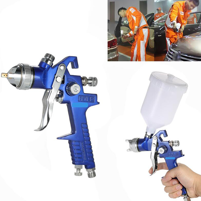 Original H - 827 Car Paint Spray Tool 1.4mm Automotive Pneumatic Gravity Environmentally Friendly Topcoat With New Design