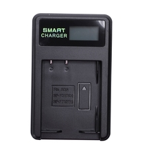 Intelligente Batteria Ricaricabile Caricatore Display Lcd Singolo Slot W Cavo Usb Per Np Bd1/Fd1/Ft1/Fr1 Al Litio batterie