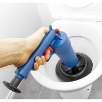 Adeeing Household Air pressure Type Toilet Dredging Device Drain Sink Pipe Clog Remover Bathroom Kitchen Cleaner Kit