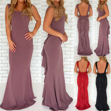 Hirigin Brand Sexy Dress Vestidos 2019 New Hot Womens Long Formal Party Evening Clubwear Prom Gown Maxi