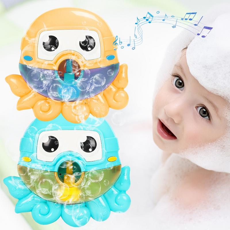 Classic Toys Kids Swimming Water Toys Newborns Baby Bath Bubble Machine Electric Spitting Bubble Maker Baby Bath Shower Fun Toy Warm And Windproof