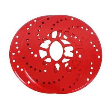 2pcs/set Car Aluminum Alloy Wheel Disc Plate 26cm Auto Sheet Modification Cover Brake Rear Drum