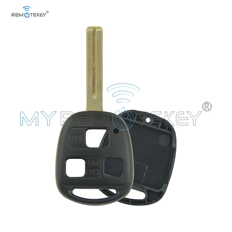 Remtekey Remote key shell toy 48 short 3 button for <font><b>Lexus</b></font> <font><b>RX300</b></font> RX330 RX350 RX400H <font><b>1998</b></font> 1999 2000 2002 <font><b>2003</b></font> image