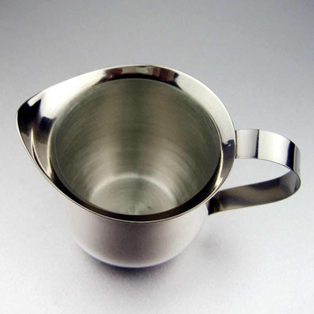 60 Ml/90 Ml/150 Ml/240 Ml Stainless Steel Latte Art Pitcher Susu Buih Kendi Kopi Espresso cangkir Kopi Barista Kerajinan Cappuccino Cangkir Pot