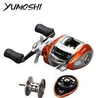 Yumoshi Upgrade Bait Casting Fishing Reel 12+1BB 6.2:1 Left/Right Hand High Speed Baitcasting Fishing Reels Sea River Drop pesca|Fishing Reels| |  -