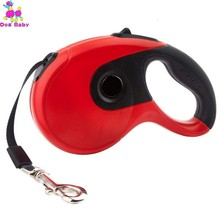 3/5M Premium Retractable Dog Leash Automatic Adjustable Training Lead Extending Traction Rope Walking Running Leashes