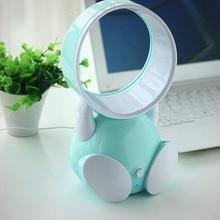 5V bladeless fan desktop Usb mini Fans Cartoon Precious Portable Small Electric Fan Office family desk fan AC