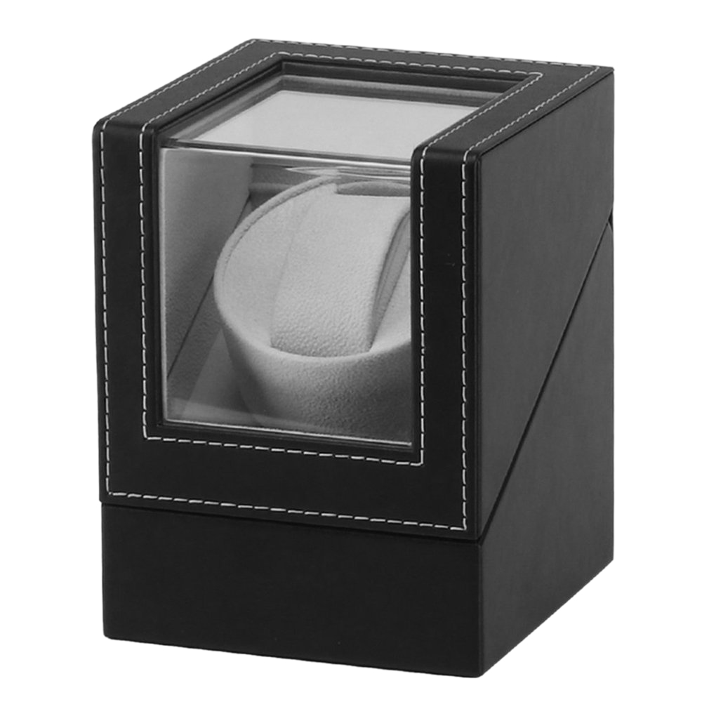 Advanced Motor Vibrating Screen Watch Winder Stand Display Automatic Mechanical Watch Winding Box Jewelry Watch Box