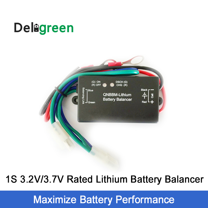 QNBBM 1S Active Battery Balancer For Li-ion Li-po Lifepo4 LTO 18650 DIY Battery Packs With LED Indicator