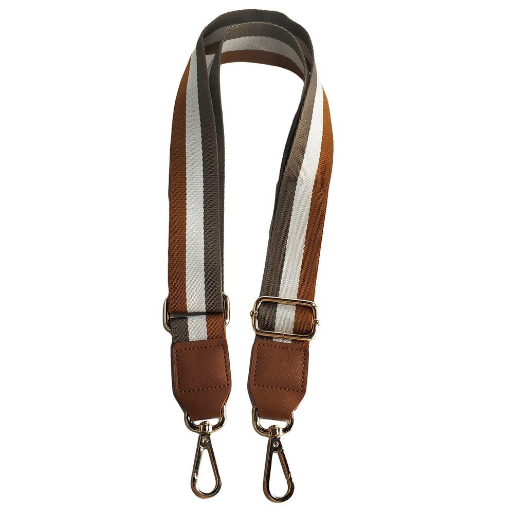 Handbag Strap Nylon Striped Woven Strap For Women Crossbody Shoulder Bag Belt Handbag Adjustable Strap Bag Accessories 70- 125cm