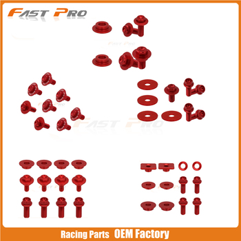 Motocycle Dirt Bike Plastic Body Parts Bolt Screws For Honda CRF250R 2004 2005 CRF250X CRF450X CRF 250R 250X 450X image