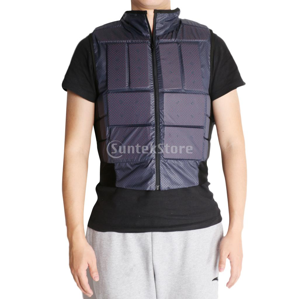 Outdoor Equestrian Body Protector Safety Horse Riding Vest EVA Padded Waistcoat for Adult XS-XL цена