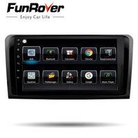 Funrover android8.0 2din автомобильный dvd плеер для Mercedes Benz ML W164 W300 ML350 ML450 ML500 GL X164 G320 GL350 GL450 GL500 gps navi