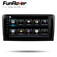 Funrover android8.0 2din lettore dvd dell'automobile Per Mercedes Benz ML W164 W300 ML350 ML450 ML500 GL X164 G320 GL350 GL450 GL500 gps navi
