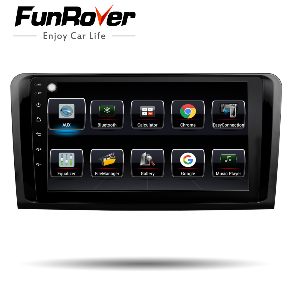 Funrover android8.0 2din lettore dvd dellautomobile Per Mercedes Benz ML W164 W300 ML350 ML450 ML500 GL X164 G320 GL350 GL450 GL500 gps naviFunrover android8.0 2din lettore dvd dellautomobile Per Mercedes Benz ML W164 W300 ML350 ML450 ML500 GL X164 G320 GL350 GL450 GL500 gps navi