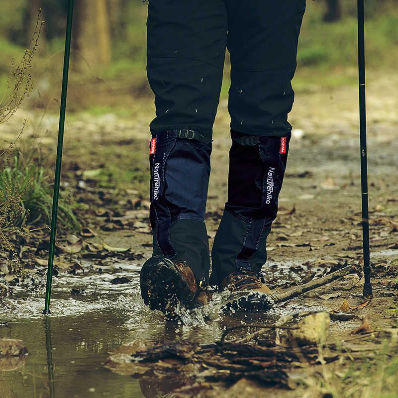 1 쌍 하이킹 다리 각반 안티-눈물 나일론 방수 높은 다리 커버 야외 연구 등반 낚시 사냥 트리밍 잔디