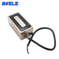 Ultrathin Rectangle Electro Holding Magnet Mkp100/50 Pure Copper Coil Solenoid Sucker Electromagnet Dc 12v 24v