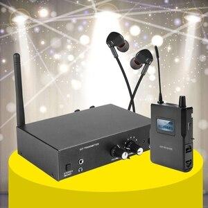 Image 4 - Für ANLEON S2 Stereo Wireless Monitor System Kit In Ohr Bühne Überwachung 561 568Mhz Sender und Empfänger Set