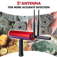 Portable Handheld Metal Detector Underground 25m Gold Silver Gold Diamond Detector Long Range Treasure Search Finder Seeker New
