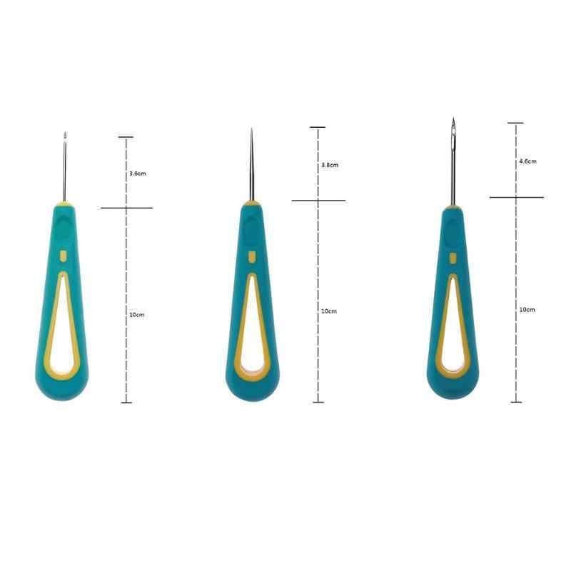 Awl крючок иглы стальной вязальный крючок набор игл съемные ботинки сумки инструмент ручная работа Аксессуары швейные инструменты аксессуары