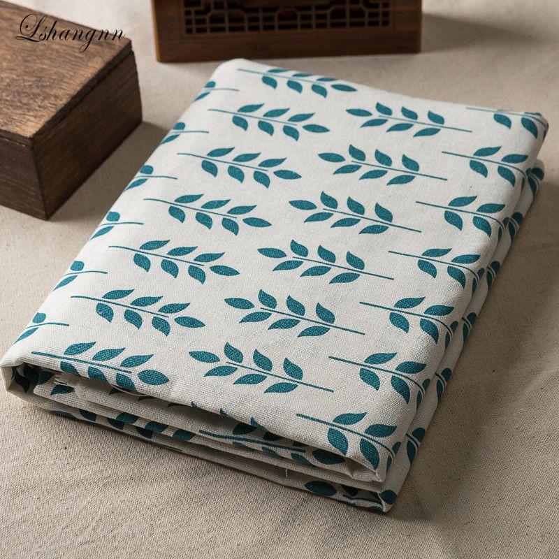 Nový bavlněný povlak v pastoračním stylu 50x150cm tkanina pytlovina pro šití textilního prošívání kutilská textilie pohovka látková záclona