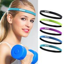 fb097eee2d41 Women Men Yoga Hair Bands Sports Cool Headband Anti-slip Elastic Sweatband  Yoga Running Biking · 5 Colors Available