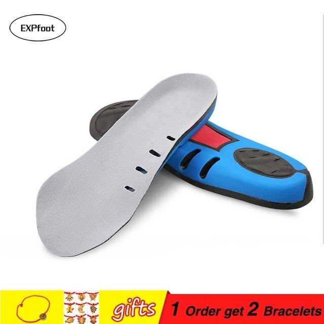 b97e56d36b Sapato Insere por EXPfoot-3 4 comprimento Palmilha para o Alívio Da Dor No