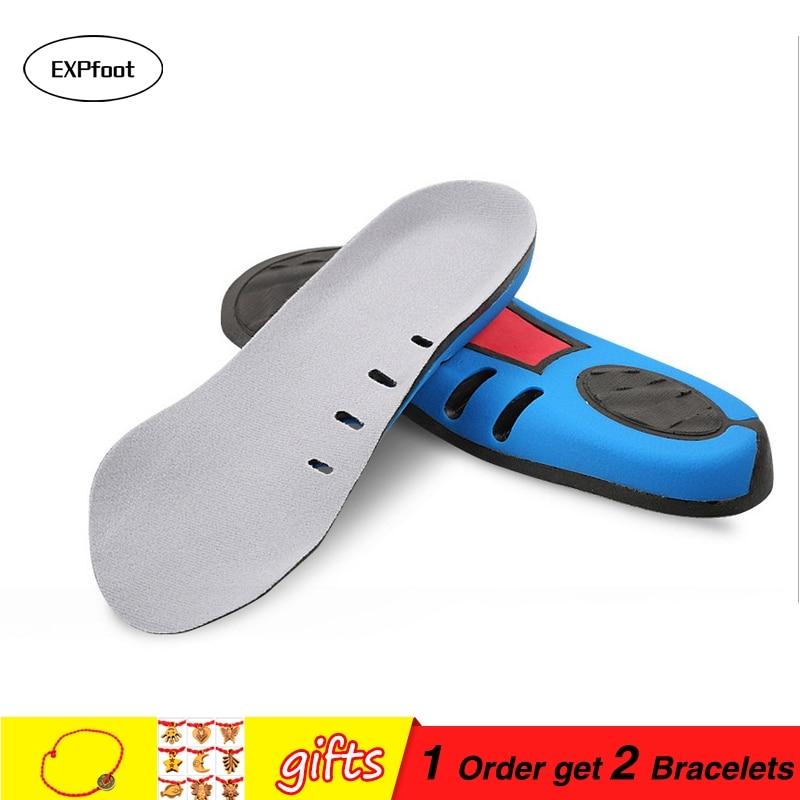 Sisipan Sepatu oleh EXPfoot -3/4 panjang Insole untuk Plantar Fasciitis Nyeri Tumit Pagi & Taji Tumit - Cup Pad Cocok Untuk Sebagian Besar Sepatu