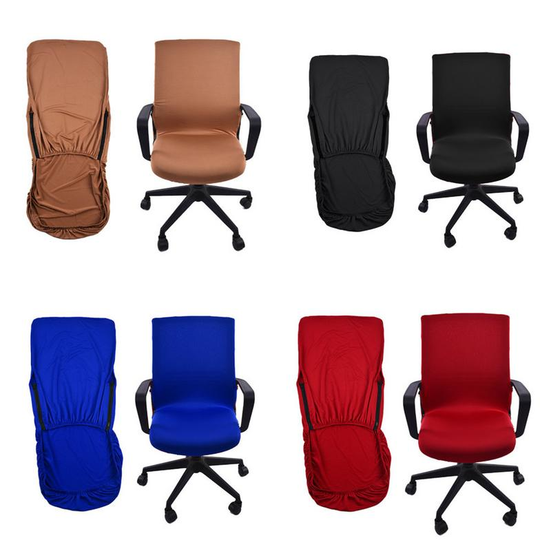 Hot Office Chair Cover Swivel Computer Armchair Protector Executive Slipcover
