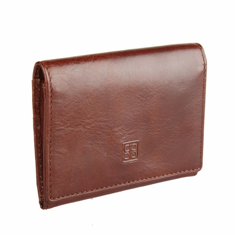 Card & ID Holders SergioBelotti 1295 milano brown визитница card holders multi id 1223