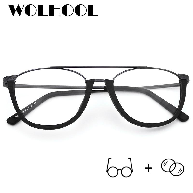 Dioptrien Progressive Brillen Halb Mann 10 Photochrome Quadrat Myopie Gläser 19 Acetat Rahmen Mit zxfpwgSqq